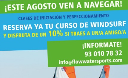 Escuela de surf, windsurf, stand up paddle y kayak