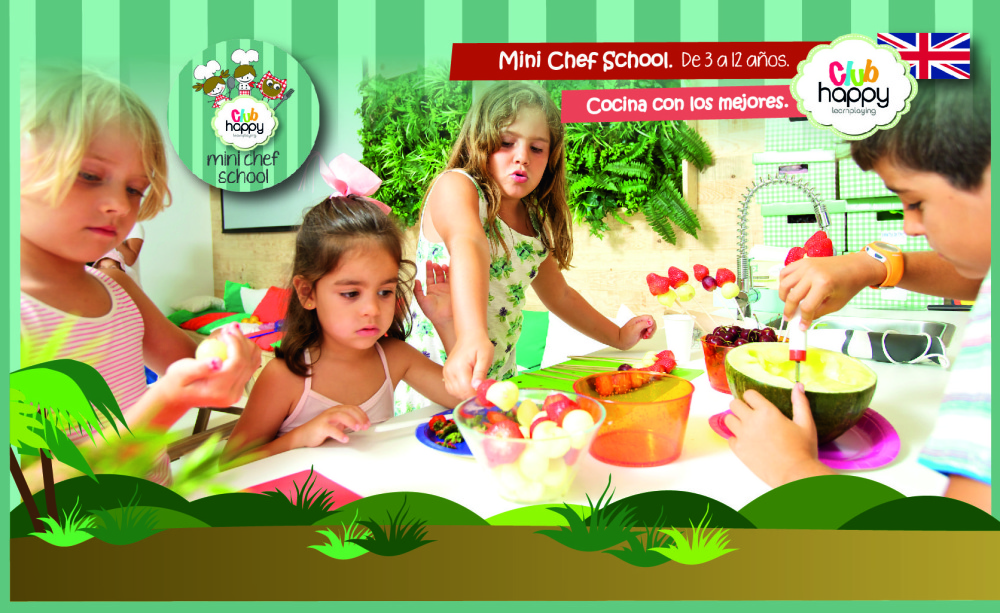 Academia de cocina y actividades en ingl s club happy for Cursos de cocina en alicante