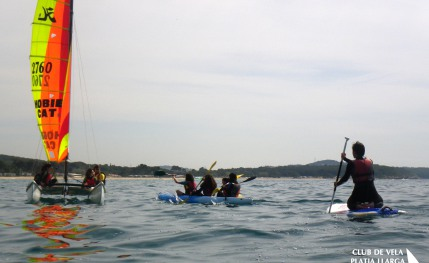 Club de Vela, surf, windsurf, kayak, catamarán